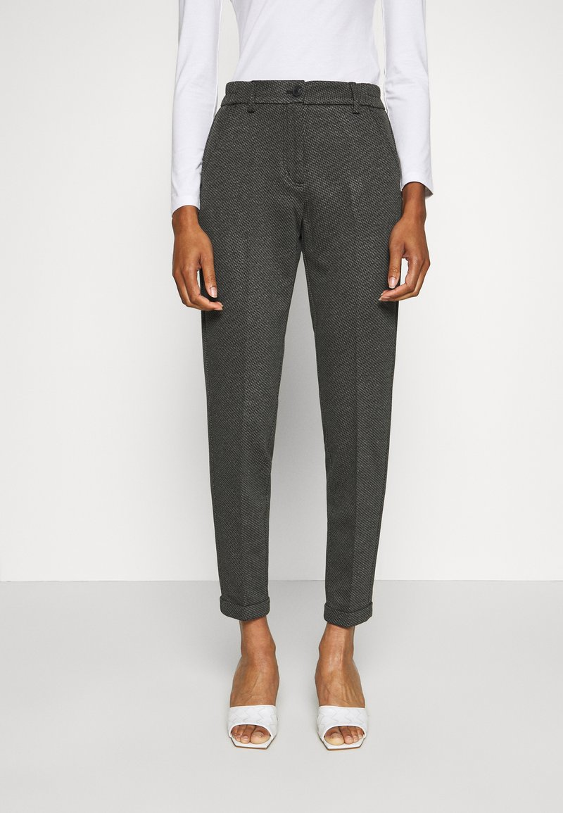 Opus - MELINA RETRO - Pantalones - easy grey