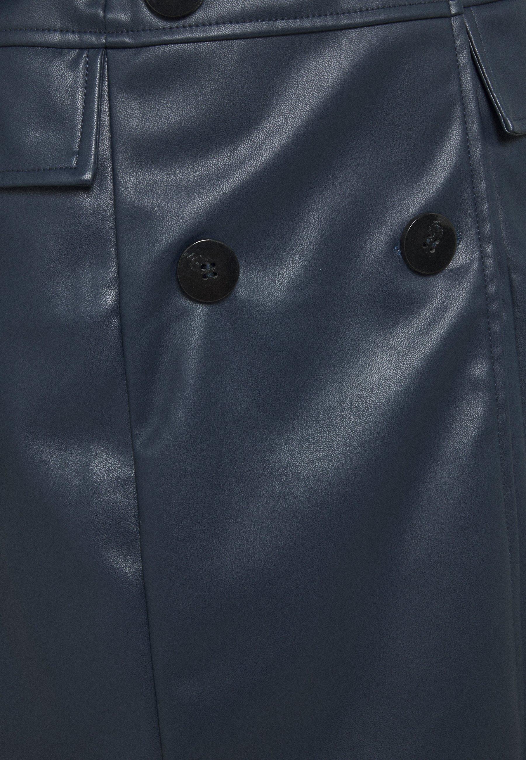 Who What Wear BELTED JACKET DRESS Freizeitkleid dark navy/blau