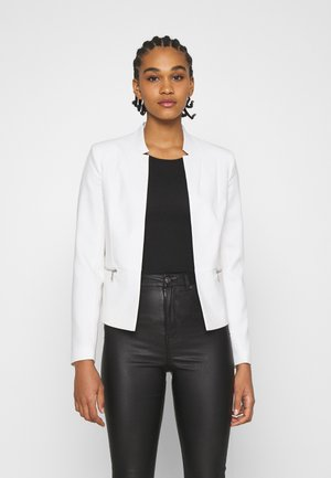 ONLMADDY SHORT ZIP BLAZER  - Blazer - cloud dancer