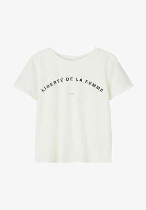 T  SHIRT PRINT - T-shirt print - snow white