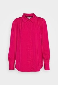 Tommy Hilfiger - SYLVIA BLOUSE - Button-down blouse - ruby jewel - 4