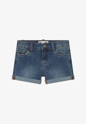 CAMILLA - Szorty jeansowe - blue denim