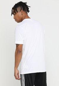 adidas Performance - TEAM 19 - Print T-shirt - white - 2