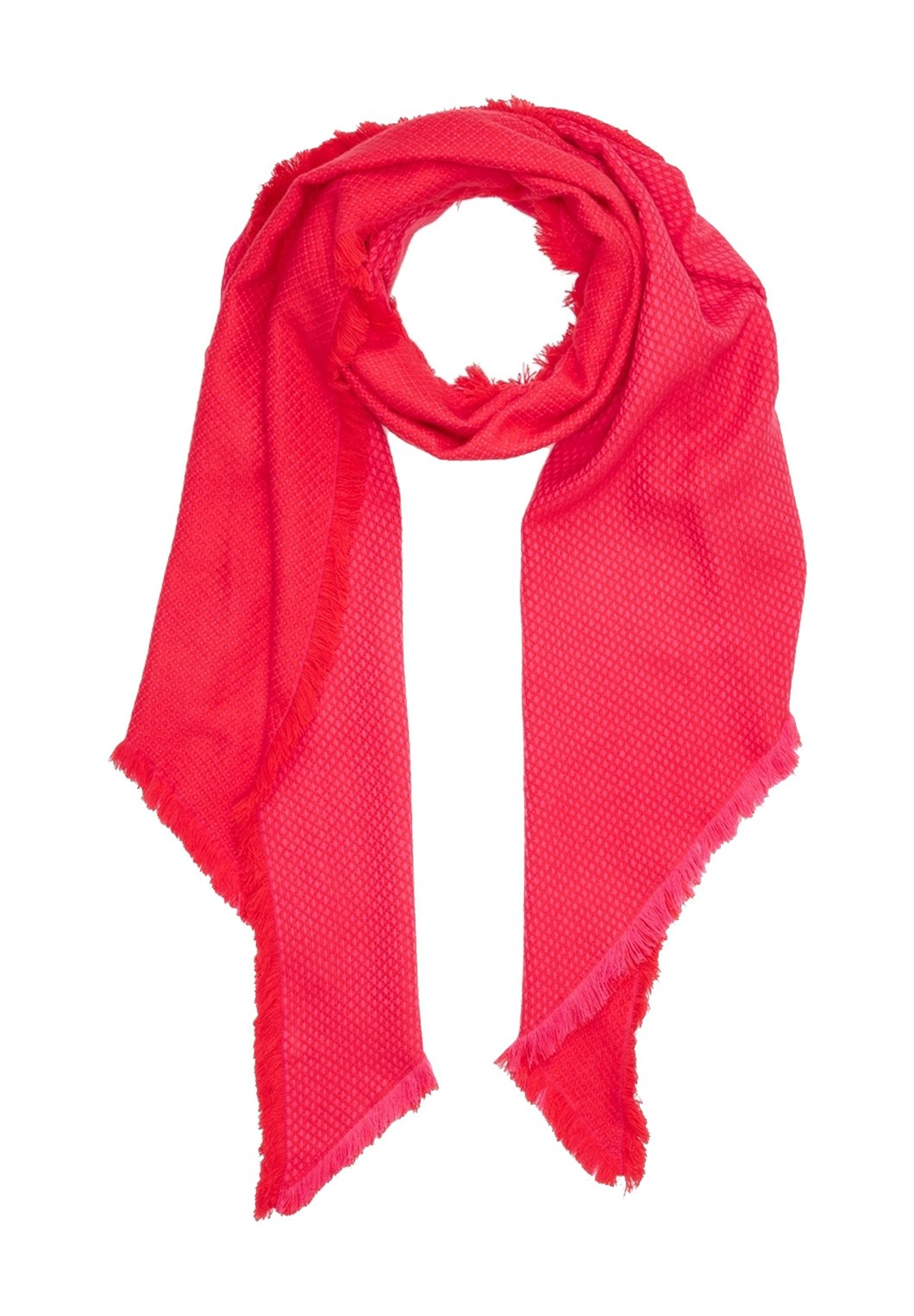 S.oliver Mit Jacquard-muster - Schal Red/rot