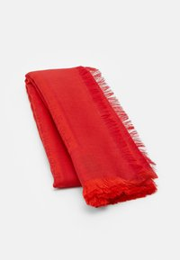 Tory Burch - LOGO TRAVELER SCARF - Šátek - bright red - 2