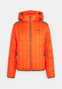 MEEFIC VERTICAL QUILTED JACKET - Zimní bunda - signal orange
