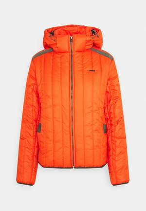 MEEFIC VERTICAL QUILTED JACKET - Veste d'hiver - signal orange