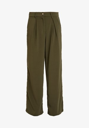 VMCOCO WIDE PANT - Kalhoty - ivy green