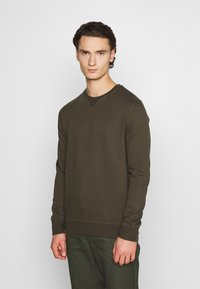 Burton Menswear London - 2 PACK CREW  - Mikina - black - 3
