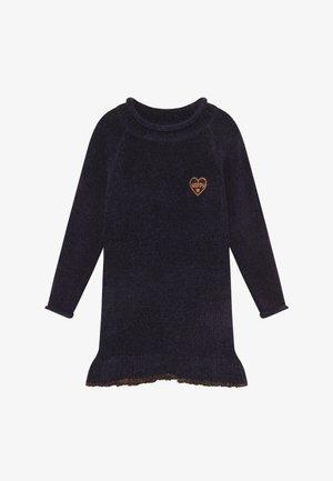 KIDS - Pletené šaty - nachtblau