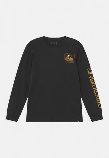 SEAQUEST - Maglietta a manica lunga - black