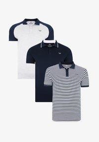 Threadbare - THREADBARE POLO SHIRT FRANCIS 3ER PACK - Polo shirt - mehrfarbig - 3