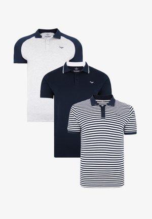 THREADBARE POLO SHIRT FRANCIS 3ER PACK - Poloshirt - mehrfarbig