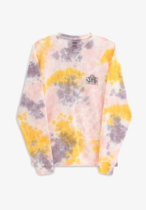 WM MASCY GRUNGE WASH LS - Camiseta de manga larga - purple dove