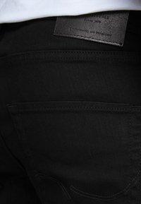 Jack & Jones - JJICLARK JJORG - Jeans straight leg - black - 4