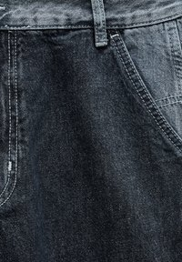 PULL&BEAR - MIT COLOUR-BLOCK - Straight leg -farkut - light grey - 6