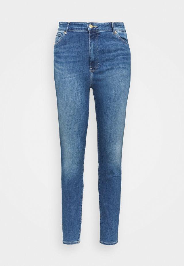 HARLEM - Jeans Skinny Fit - blue denim