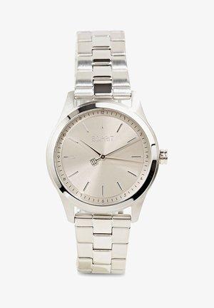 MIT GLIEDERARMBAND - Watch - silver