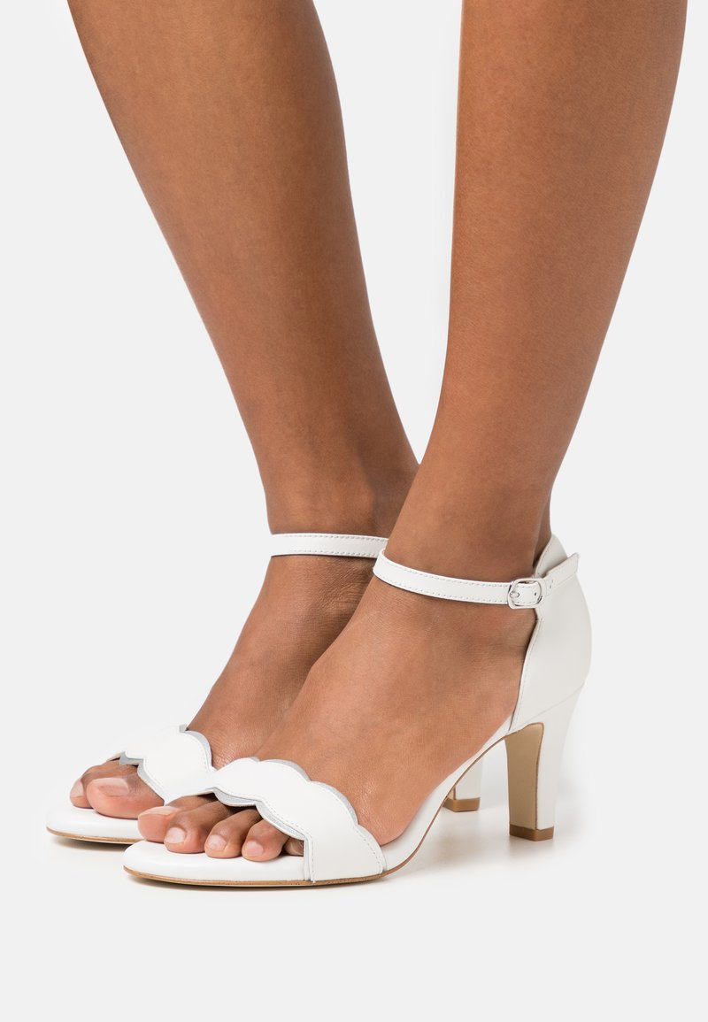 Anna Field Wide Fit - LEATHER - Sandali - white