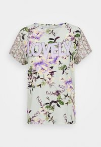 Rich & Royal - LOVELY WITH FLOWER PRINT - Blouse - jade mint - 3