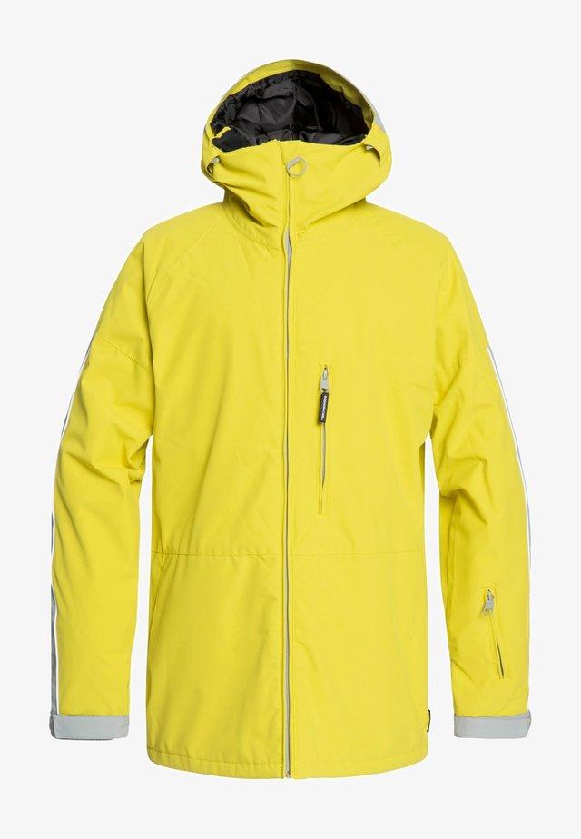 RETROSPECT - Veste de snowboard - warm olive