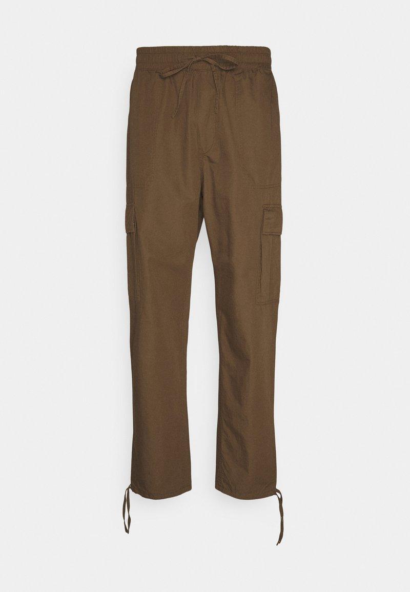 Weekday - KRISTOFFER TORUSERS - Pantaloni cargo - dark beige