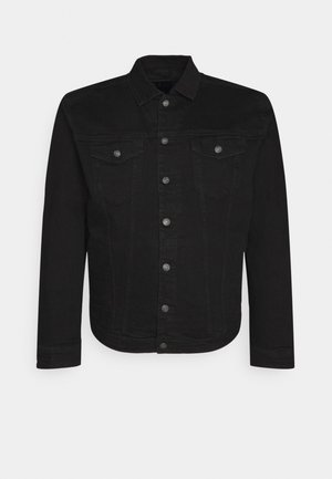 PLUS KASH JACKET - Spijkerjas - black