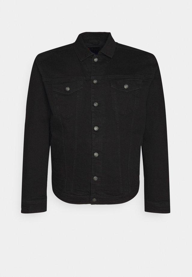 PLUS KASH JACKET - Denim jacket - black