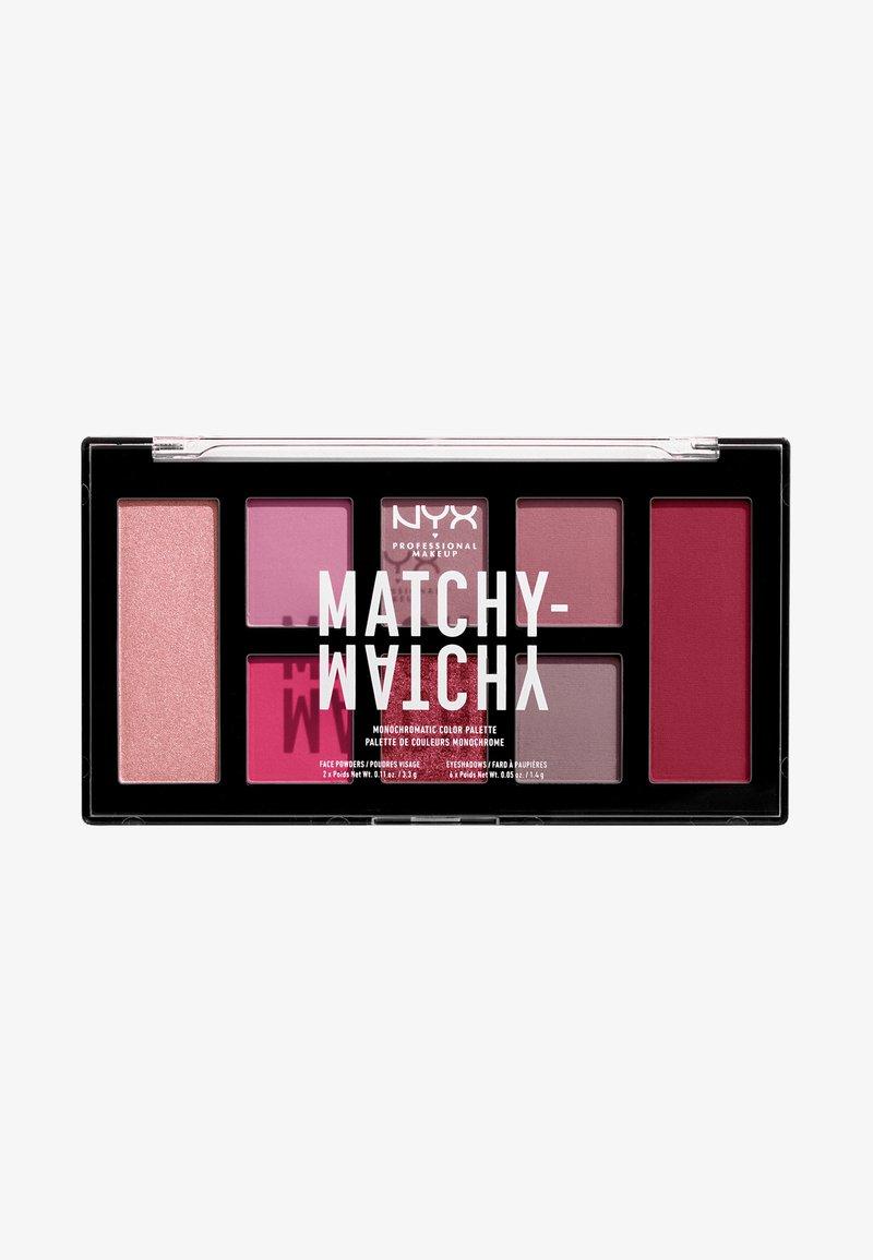 Nyx Professional Makeup - MATCHY-MATCHY MONOCHROMATIC PALETTE - Lidschattenpalette - berry mauve