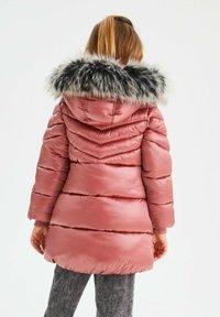 Next - Winter coat - pink - 2
