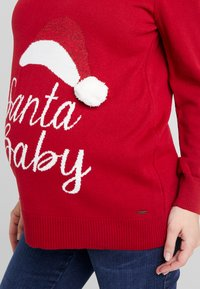 LOVE2WAIT - X-MAS - Strickpullover - red - 5