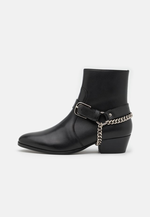 ZIMMERMAN CHAIN BOOT  - Santiags - blackbird