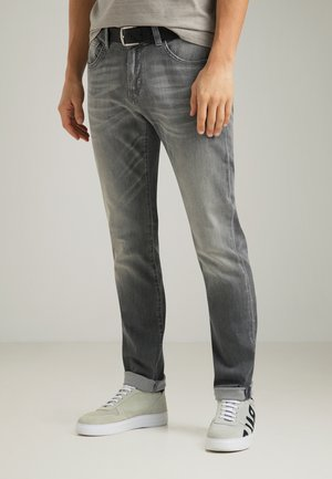 Jeans Tapered Fit - grey fashion