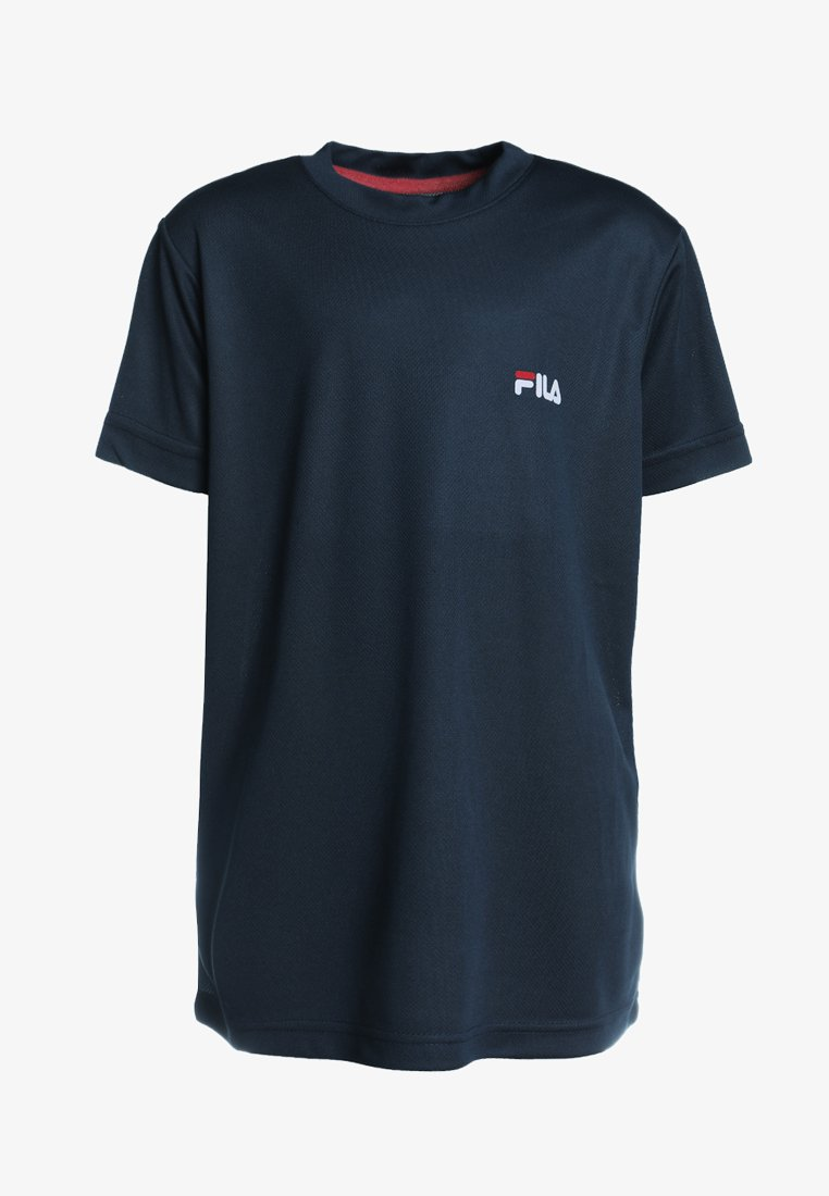 Fila - LOGO - Basic T-shirt -  peacoat blue