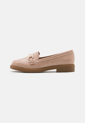 LIBERTY CROC SNAFFLE LOAFER - Instappers - blush