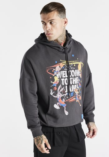 SPACE JAM OVERSIZED GRAPHIC HOODIE - Sweater - grey