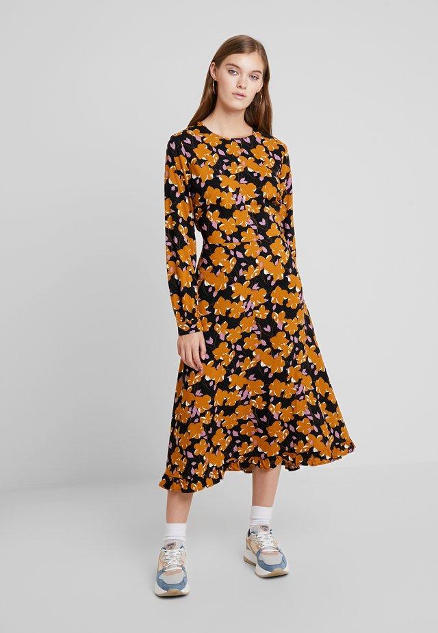 CELIA TURID DRESS  - Maksimekko - black
