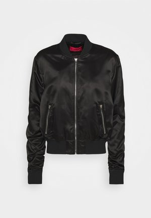 FLEURA - Bomber Jacket - black