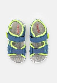 Superfit - MIKE 3.0 - Walking sandals - blau/gelb - 3