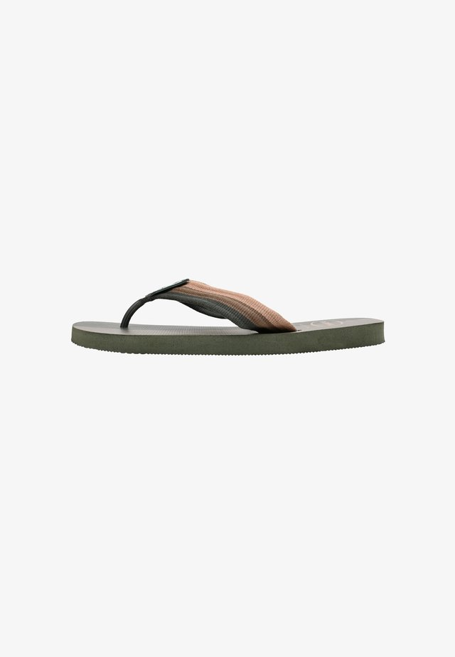 URBAN - Pool shoes - olive green