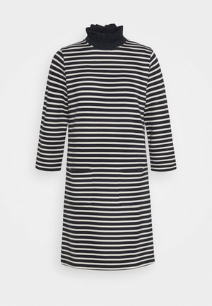 DRESS STRIPED - Vestito estivo - deep blue