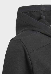 adidas Performance - LOGO FULL-ZIP HOODIE - Zip-up hoodie - black - 2