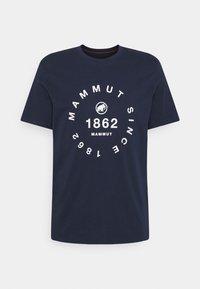 Mammut - SEILE MEN - Print T-shirt - marine - 0