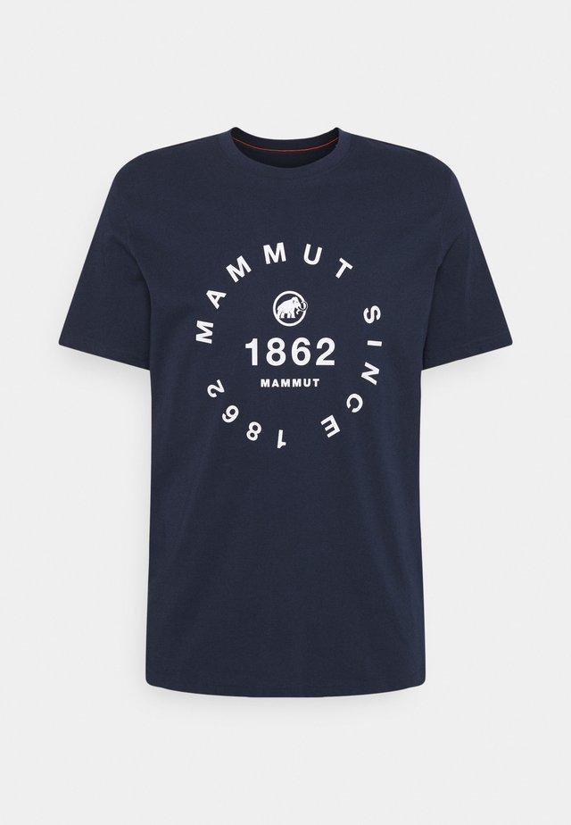 SEILE MEN - T-shirt imprimé - marine