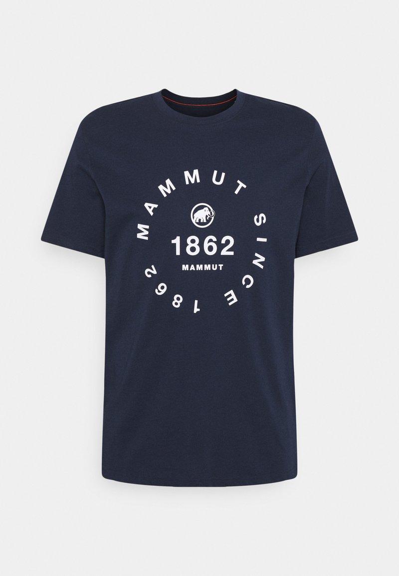 Mammut - SEILE MEN - Print T-shirt - marine