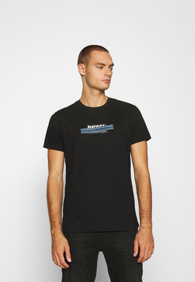 T-DIEGOS-X40 - T-shirt imprimé - black