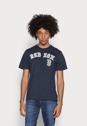 BOSTON RED SOX PUFFED ECHO TEE - T-shirt print - fall navy