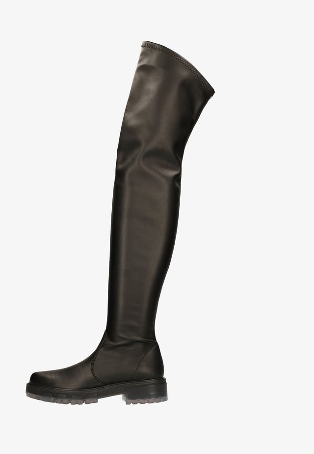 Over-the-knee boots - nero