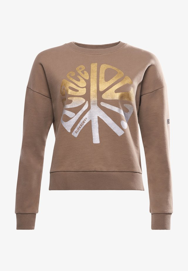 MILITARY NARRATIVE - Sweatshirt - fort taupe