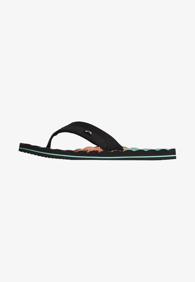 DUNES FADE  - T-bar sandals - aqua